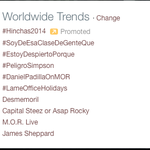 RT @SinCodificarTV: #PeligroSimpson es TT MUNDIAL! http://t.co/g5mLRduCfZ