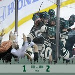 RT @mnwild: #mnwild wins 2-1! Game 5 Saturday in Denver! #itsplayoffseason #ThisisHowWeDoIt http://t.co/EZmQSjeigw