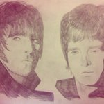 When I did an a3 drawing of oasis for my ex and its still on his wall. Lolz. Love oasis. Hate boys.  http://t.co/BJjnussrrf