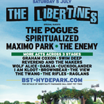So.. were supporting The Libertines at Hyde Park in London this summer! Fuck YES! Going to be unreal. YES! http://t.co/tK59TXmDTf