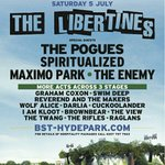 We are absolutely delighted to announce that well be supporting The Libertines at Hyde Park on July 5th! Woah. http://t.co/7UNeqU0uiH