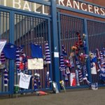 RT @STVNews: Tributes at gates of Ibrox this morning in memory of Sandy #Jardine http://t.co/2RrUIUD2JW http://t.co/Z7NFpwwn8T