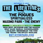 RT @poguesofficial: ALERT! POGUES special guests LIBERTINES London Hyde Park,July 5. Pre-sale tickets http://t.co/Xy67cIMqJA 9am April 28 http://t.co/DGlYThHxUB