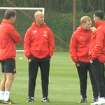 RT @Squawka: Phil Neville, Nicky Butt, Paul Scholes and Ryan Giggs are ready to take training this morning. #MUFC http://t.co/Fmt4ANiFaL