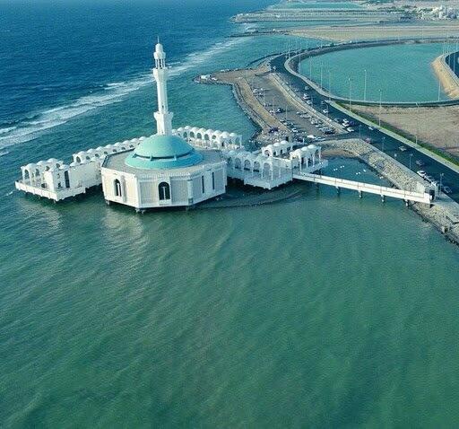 The Floating Mosque - Jeddah, Saudi Arabia   @MixedRaceAkhi http://t.co/rQmr2EyXVy