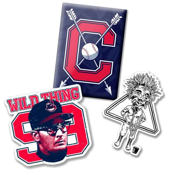 It's #FreeFriday Tribe fans! Retweet for a chance to get this Tribe Magnet and Major League themed stickers. http://t.co/38bgEonziT
