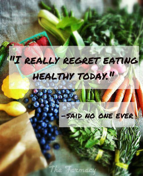 """""""I really regret eating healthy today."""" ~Said no one, ever http://t.co/iuWv86Y1V6"""