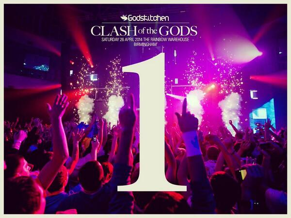 And then there was 1. The Angel Ascends. Godskitchen Returns. We'll see every One of you on the dancefloor. GK :) xxx http://t.co/EfiqtwIyQ2