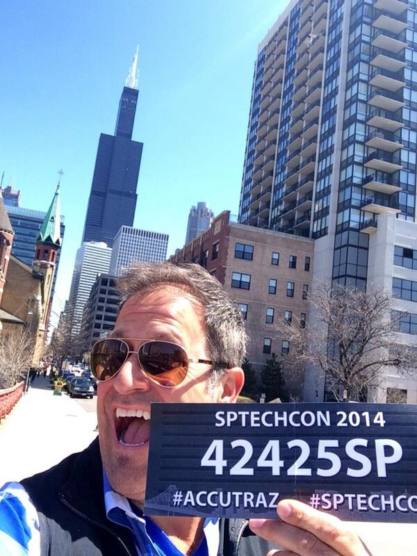 Hold the presses #showmethefitbit .@accusoft #accutraz #sptechcon #Chicago http://t.co/W5TpcHzlLW