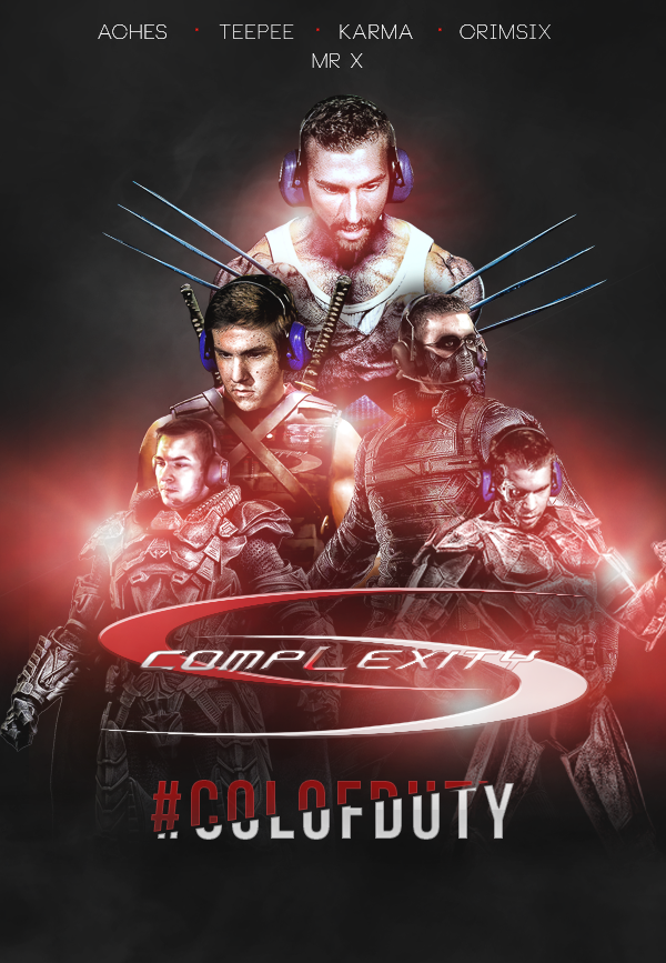 LOL Amazing. MT @JPDeez: Complexity Team Poster @compLexityLive @coL_ACHES @coL_TeePee @coLMr_X @coL_Karma http://t.co/PlMfpW3jVc