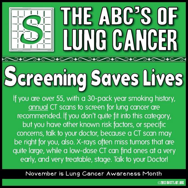 April 30 - An Important Date: Examining Low-Dose CT Lung Cancer Screening