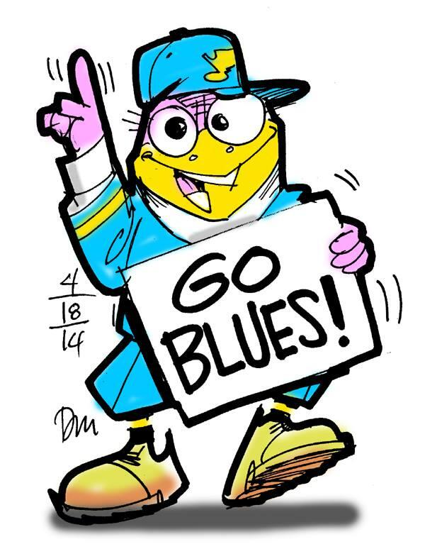 Even birds bleed blue!  #WeAllBleedBlue http://t.co/eLOy0HkaeQ
