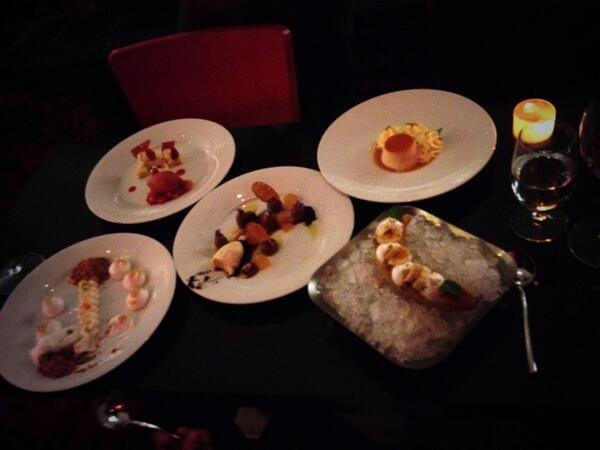 Our dessert course @BazaarMiami. @chefjoseandres your crew is amazing. Thanks! http://t.co/CjvcXi58VO
