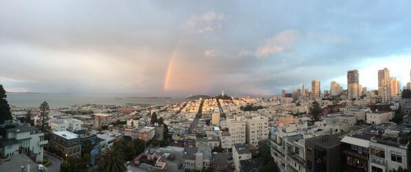 Rainbow! http://t.co/Eh6Ee0tBdV