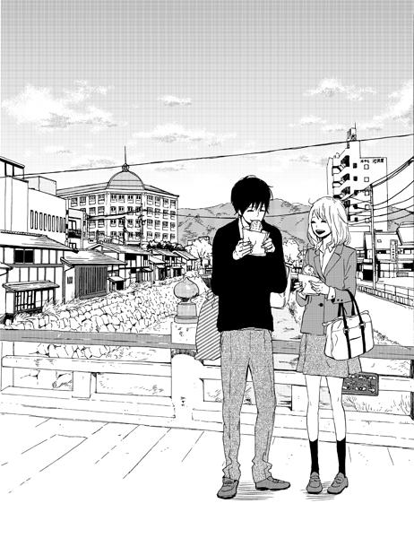 『神様のカルテ』は『orange』と同じ長野県松本市が舞台なのですが、菜穂と翔がいるこの橋は、櫻井翔さんも映画の中で歩い