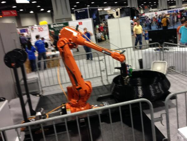 RT @AmericaMakes: Large format #3DPrinting at @LockheedMartin's exhibit at #SciFest #stemeducation #tech http://t.co/Ct4W45MWG7