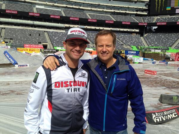 Rick Reichmuth (@rickreichmuth): Great talking to Chad Reed @CRtwotwo this morning on @ffweekend Smart guy! http://t.co/hTpKYgtNEO
