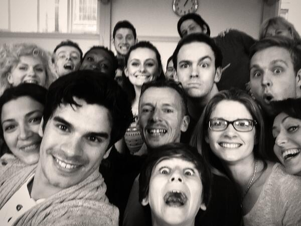Cast of @RAGS_In_Concert at our sitzprobe. #1910selfie. Monday 28th. Lyric Theatre. http://t.co/2UNqNBFQLe RT http://t.co/yYRTCPileg