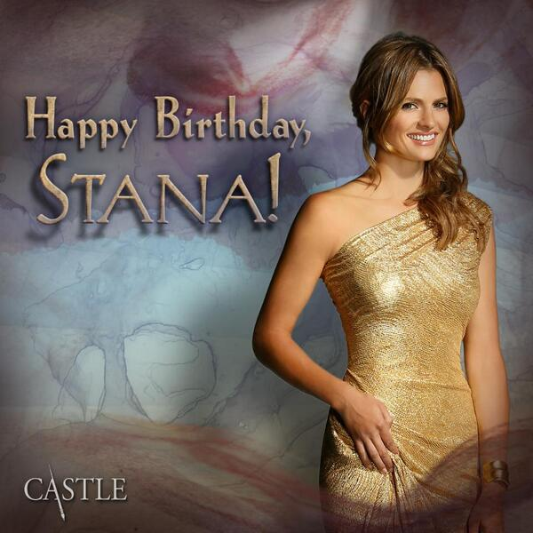 Wishing a very happy birthday to everyone's favorite detective, @Stana_Katic! http://t.co/xGhBpg9TUz