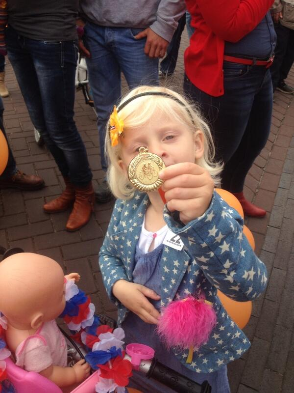 En de medaille is binnen! http://t.co/R4oKCSwVWc