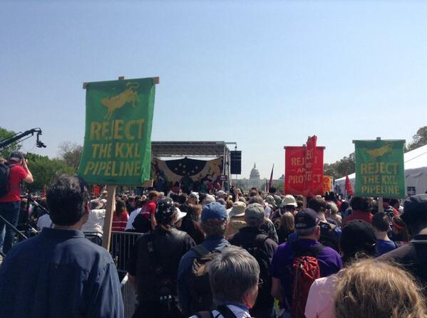 #RejectAndProtect rally kicks off with a beautiful prayer. All gathered stand in respect and solidarity. http://t.co/TRUJLo0oYy