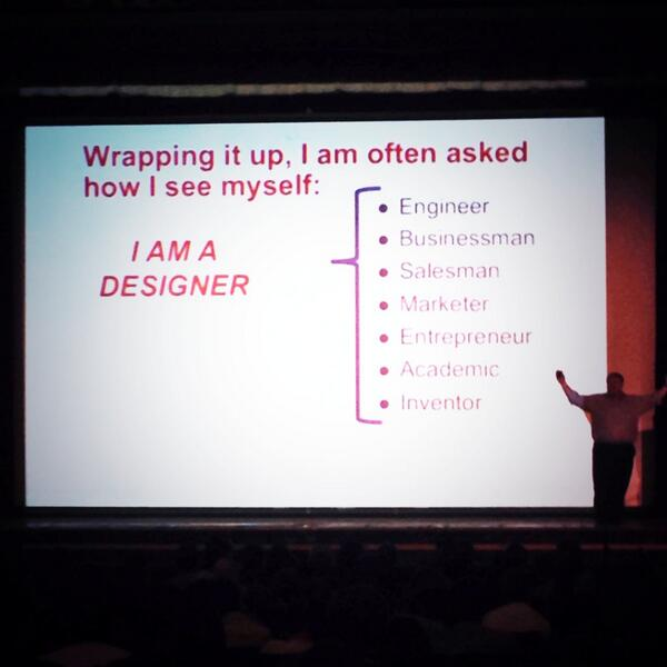 I am a Designer! Great wrap up from Dan Brown #idsamidwest14 http://t.co/TehewyjJSD