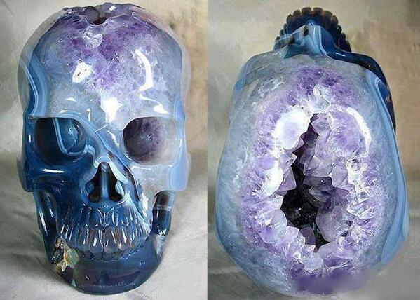 Amethyst Crystal Skull. http://t.co/VuDPnCdbvp