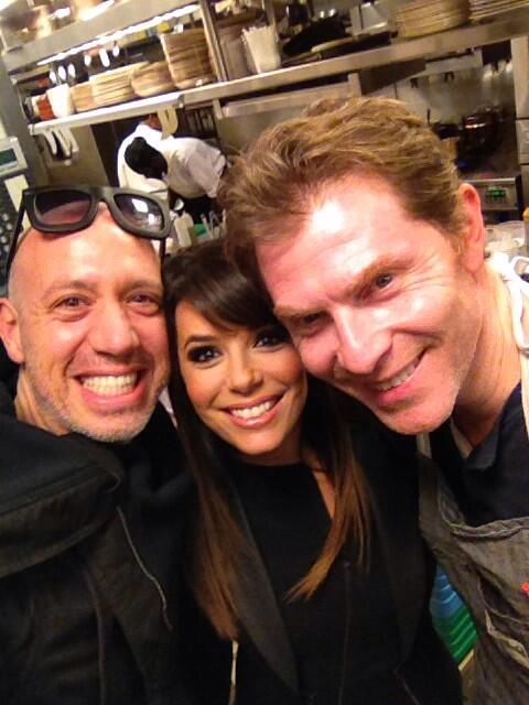 What an amazing din-din @gatonyc1 with the king of cool cuisine @bflay & my west coast bestie @EvaLongoria http://t.co/5JOSDAlcBV