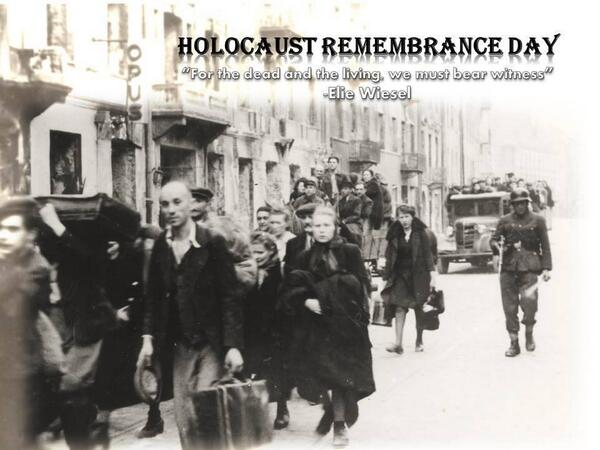 Tonight we mark #Holocaust Remembrance Day.We remember the 6,000,000 Jews who perished in the Holocaust.#NeverForget http://t.co/Fs1P2chON4