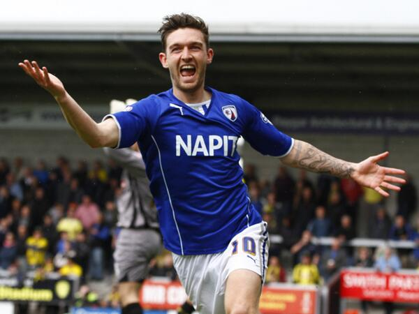 FULL TIME! 0-2! CHESTERFIELD ARE PROMOTED INTO LEAGUE 1! http://t.co/5aKSs7k7Mq