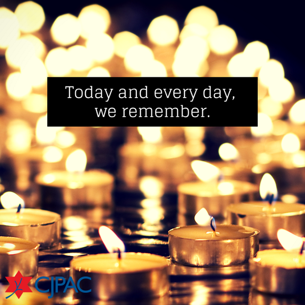 As #YomHaShoah begins this evening, we remember the victims of the Holocaust & this tremendous loss. #NeverAgain http://t.co/jRx5OVDGaL