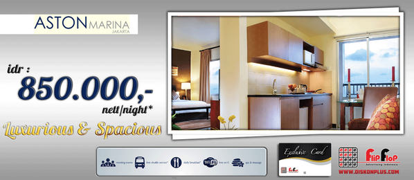 ASTON Marina Jakarta, idr : 850.000 nett/night* Luxurious&Spacious. only with #flipflopCard http://t.co/rG3aDHoDM4 | http://pbs.twimg.com/media/BmR-dM_CIAAfwIK.png:large