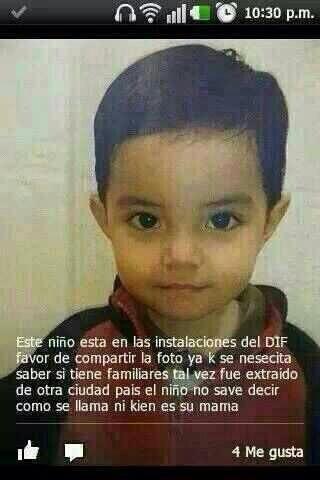 """Alguien lo conoce? Favor de darle RT... Esta en el DIF de Hermosillo, Sonora http://t.co/iN6YC970P7"""" // órale banda Ayuden con un RT"""