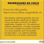 REGRESIONES EN CHILE, A PASOS DEL METRO PLAZA EGAÑA. SUPERA TUS TRAUMAS .VIDAS PASADAS. @DonDatos @donpituto RT! http://t.co/uRW4fW7Lb6