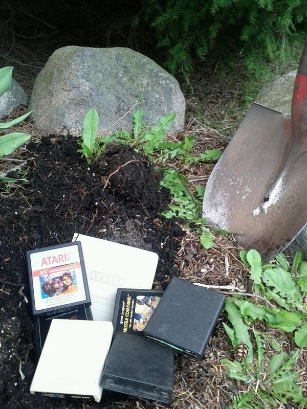I found ancient artifacts while planting flowers today. http://t.co/VyEs9LghLI
