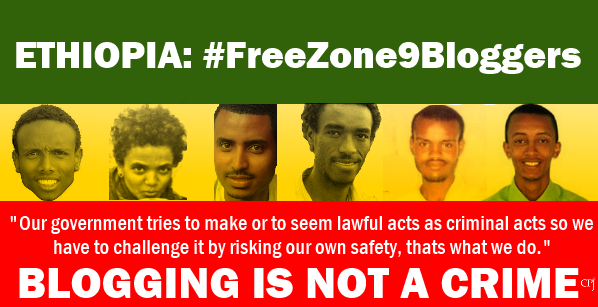 #Ethiopia: #FreeZone9Bloggers. It should not be a crime for #youth to blog & express opinions on #socialmedia #Africa http://t.co/frasNg60Hu