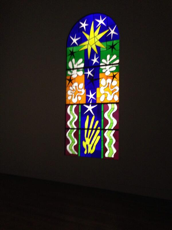 RT @Shrimps__: Amazing #HenriMatisse Sunday night viewing at the @Tate yesterday 💙💚 http://t.co/09lAzbhpLv
