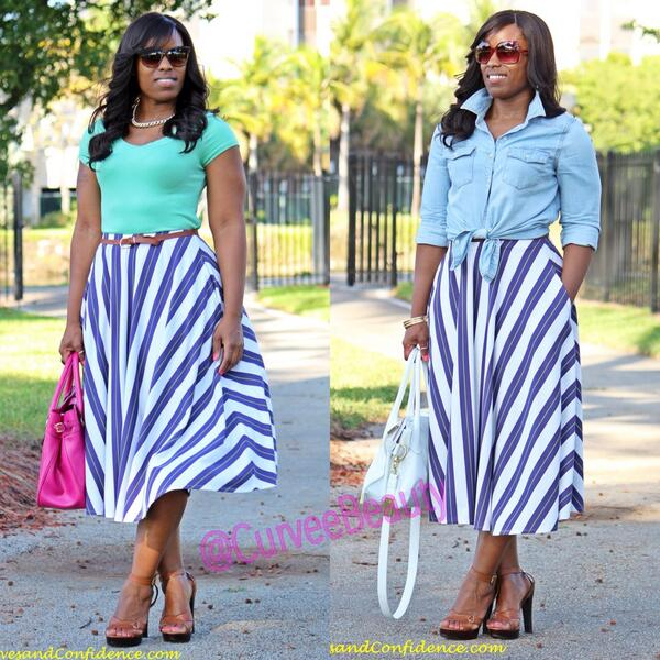 New blog post! Work and Play: Striped Midi Skirt http://t.co/hLDgSF9Zju http://t.co/8lY1mApaSF