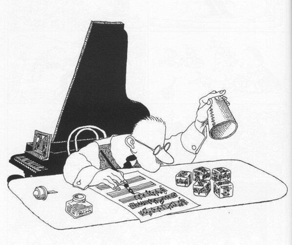 """Had to share this for #musichumormonday. This one is for the composers out there. """"musical dice"""" #classicalmusichumor http://t.co/l81VnRpp2u"""