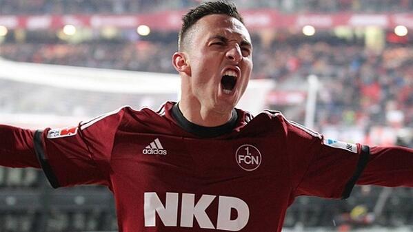 BmVMCetIgAAF1X8 Arsenal miss out again! Josip Drmic is leaving Nurnberg to join Bayer Leverkusen for €6 million [Bild]