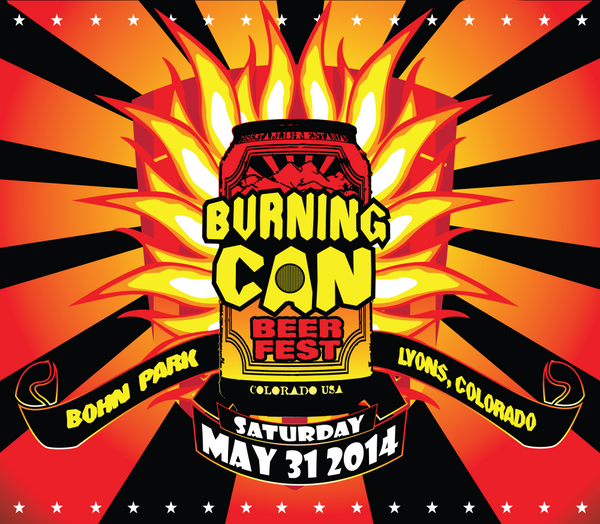 #BurningCAN Beer Fest is back! Join us and 50 other breweries on 5/31 in #Lyons CO. Tix here: http://t.co/hWbbU8ER8I http://t.co/FwqNN97VHN