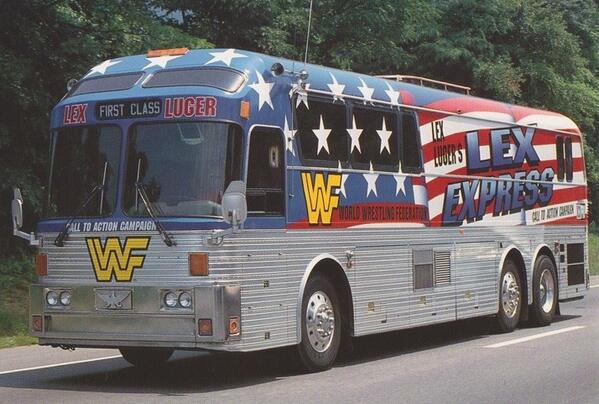 Prolly the same bus!!!RT @NotsawJDuggan: Hey Adam Rose. You think the Exotic Express is cool? Check this out... http://t.co/q4yaFZyzjf
