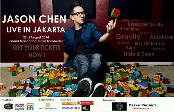 JASON CHEN Live In Jakarta, 23 August 2014 at Grand Manhattan, Hotel Borobudur. Promoted by @DreamProjectID http://pbs.twimg.com/media/BmXrl01IgAAeH4b.jpg:large