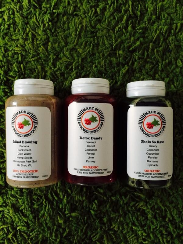 New juices from @bobosjuicery ridiculously healthy and delicious. Our faves are mind blowing and give me strength http://t.co/aQflvXoNT2