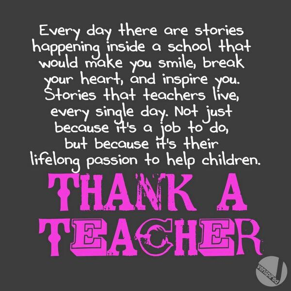 Have a great day... and thank a teacher.  #Teacherappreciation http://t.co/seps26X1Od