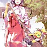 結衣ちゃんちはあんなおっきい神社なので暮れ正月とかは巫女さん姿でお家の手伝いするのかなという妄想 #kamiaso