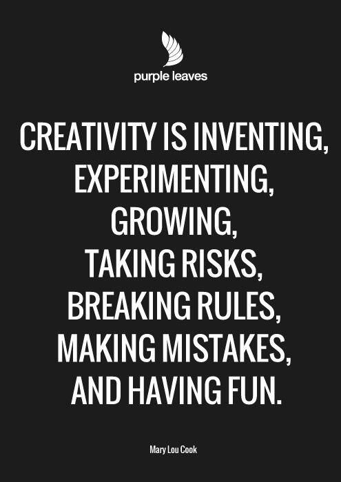 Creativity is ... http://t.co/ghqr3rMk3o