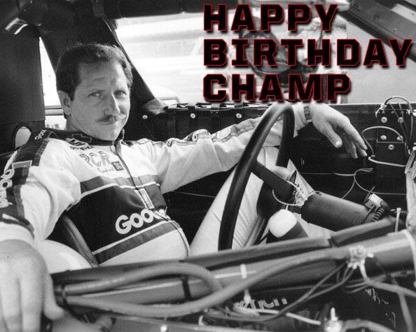 Happy Birthday Champ. #NASCAR http://t.co/jHpaDkApQE