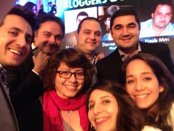 #selfie with the rockstars aka lebanese bloggers @LFAlebanon #bifex http://t.co/ZqIsMvsLbT