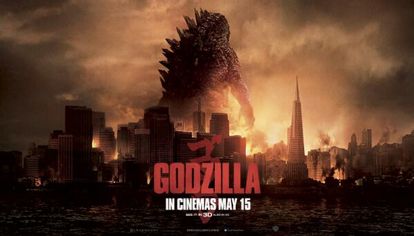 Retweet to win 1 of 20 DOUBLE PASSES to Godzilla in cinemas May 15th #EBComps http://t.co/hENhQq34yY